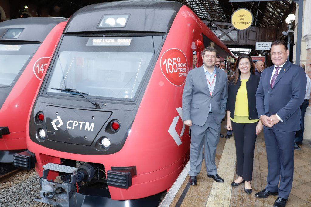 Retomada das obras da estação de trens da Linha 7 – Rubi em Francisco Morato